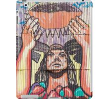 Old train station and Inca graffiti at Puente del Inca, Argentina iPad Case/Skin