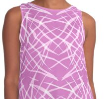 Seamless pink bright pattern background abstract texture Contrast Tank