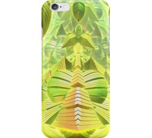 Neon Green Ocean Liner  iPhone Case/Skin