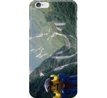 Lego Backpacker in Tianmen Mountains iPhone Case/Skin