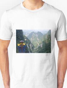 Lego Backpacker in Tianmen Mountains Unisex T-Shirt