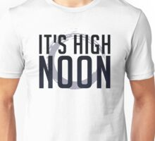 It's High Noon (Black/Blue) Unisex T-Shirt