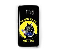 Black Cats VS-23 Crest for Dark Colors Samsung Galaxy Case/Skin