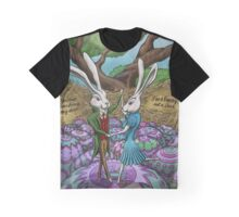 Dancing Bunnies Graphic T-Shirt