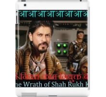 Wrath of Shah Rukh Khan iPad Case/Skin