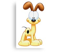Simple Odie Canvas Print