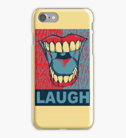 LAUGH iPhone Case/Skin
