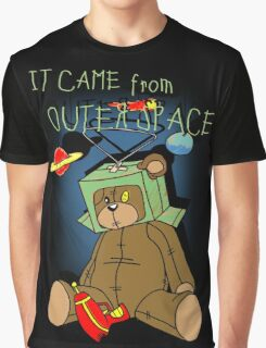 It Came from Outer Space - in technicolor Graphic T-Shirt