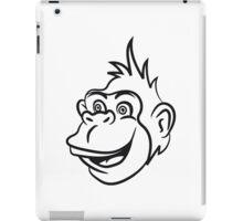 Gorilla monkey funny cool iPad Case/Skin