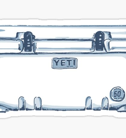Yeti Cooler Sticker