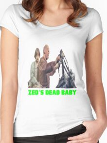 Pulp Fiction - Zed's Dead Baby Women's Fitted Scoop T-Shirt