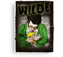 R.L. Amaro's WILDE (Graphic Novel Cover) Canvas Print