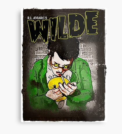 R.L. Amaro's WILDE (Graphic Novel Cover) Metal Print