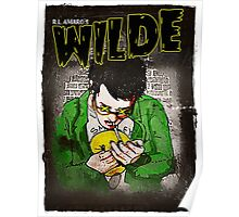 R.L. Amaro's WILDE (Graphic Novel Cover) Poster