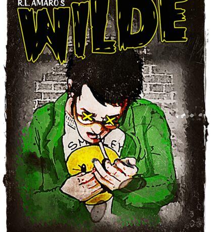R.L. Amaro's WILDE (Graphic Novel Cover) Sticker