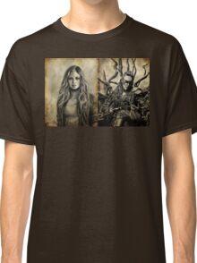 Clarke and Lexa (Clexa) Classic T-Shirt