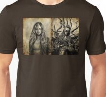 Clarke and Lexa (Clexa) Unisex T-Shirt