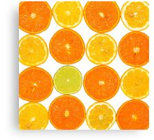 Oranges & Lemons Canvas Print