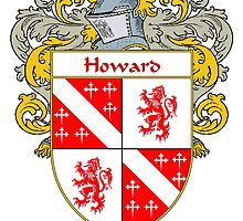 Howard Irish Coat of Arms/Family Crest by William Martin
