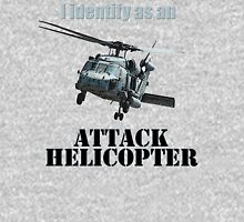 I identify as an ATTACK HELICOPTER Women's Fitted Scoop T-Shirt