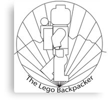 The Lego Backpacker Canvas Print