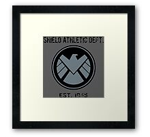 SHIELD Athletic Department Framed Print