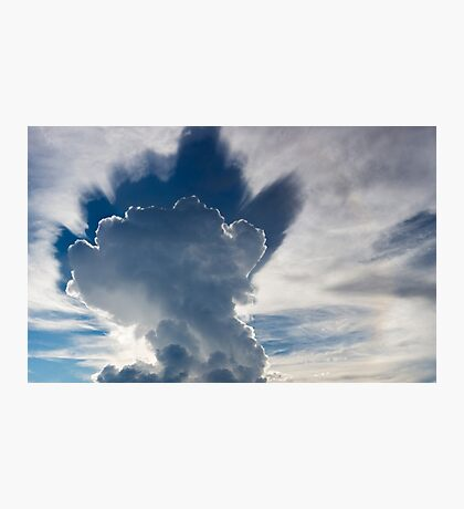 Abstract cloudscape in the sky of Rurrenabaque, Bolivia Photographic Print