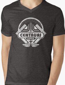 Centauri Games Mens V-Neck T-Shirt