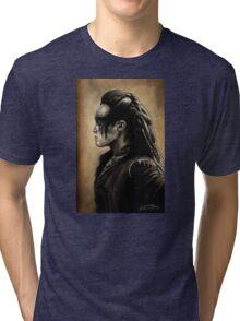 Lexa Profile View  Tri-blend T-Shirt