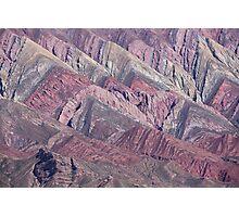 Quebrada de Humahuaca, Northern Argentina Photographic Print