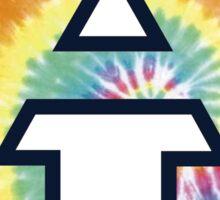 Auburn Tie Dye Logo Sticker