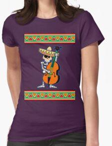 el contrabajo de los muertos Womens Fitted T-Shirt