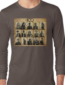 The 100 poster 1 Long Sleeve T-Shirt