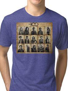 The 100 poster 1 Tri-blend T-Shirt