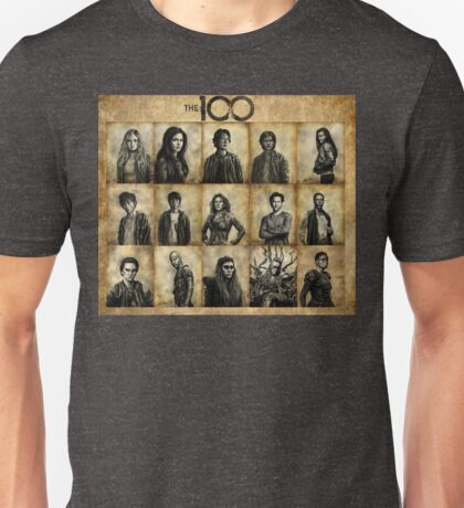 The 100 poster 1 Unisex T-Shirt
