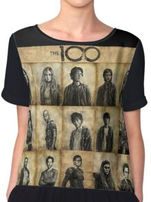 The 100 poster 2 Chiffon Top