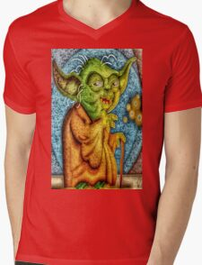 Use The Force Mens V-Neck T-Shirt
