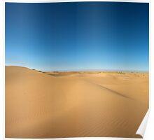 Majestic dune landscape Poster