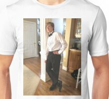 Disabled Child In Suit Unisex T-Shirt