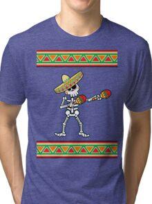 las maracas de los muertos Tri-blend T-Shirt