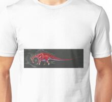 Amargasaurus Muscle Study Unisex T-Shirt