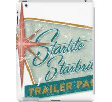 Starlite Starbrite Trailer Park iPad Case/Skin