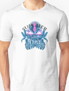 summer time blue  Unisex T-Shirt