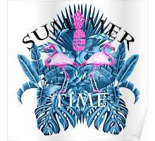 summer time blue  Poster