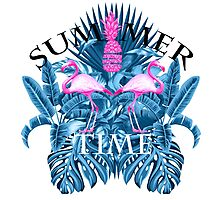 summer time blue  Photographic Print