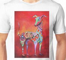 Boho Italian Greyhound Unisex T-Shirt