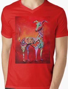 Boho Italian Greyhound Mens V-Neck T-Shirt