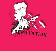 Bad Reputation Womens Fitted T-Shirt