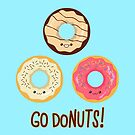 Go doNUTS! by AnishaCreations