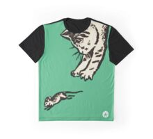 If you play with cats, expect to be scratched Graphic T-Shirt